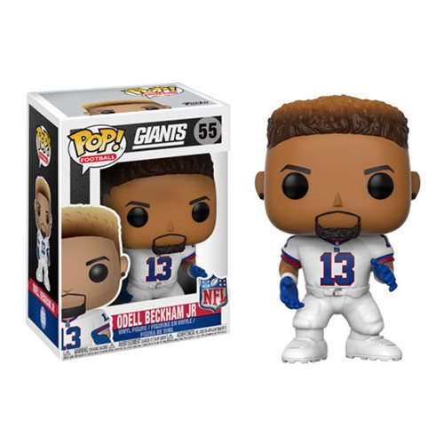NFL Odell Beckham Jr. Giants Color Rush Wave 4 Pop! Vinyl Figure #55