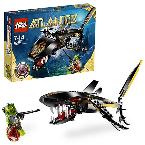 Lego Shark Toys : Lego atlantis guardian of the deep entertainment earth