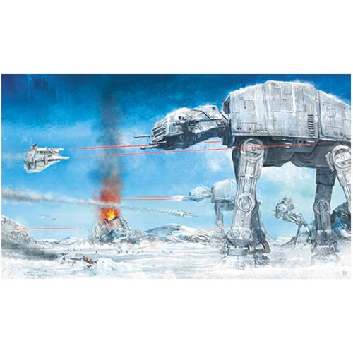 Star Wars Assault on Echo Base by Akirant Canvas Giclee Art Print