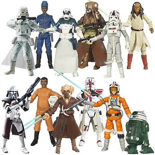 Star Wars Legacy Collection Action Figures Wave 12 Case