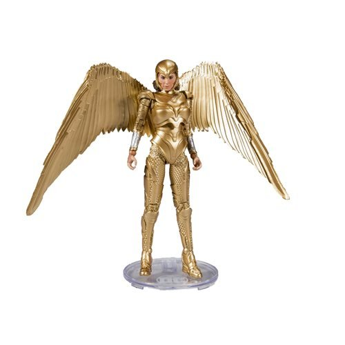 DC Comics Wave 2 Wonder Woman 1984 Gold Costume 7-Inch Action Figure