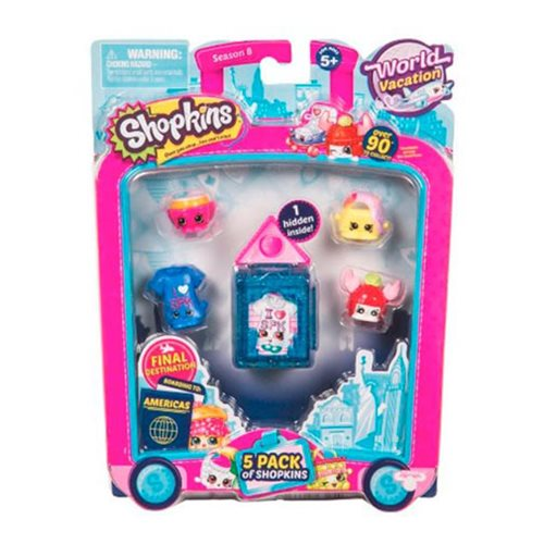 Shopkins Series 8 Wave 3 5-Pack Set