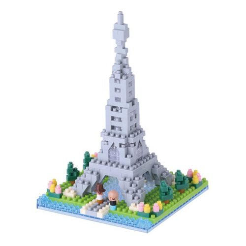 Rives de la Seine Nanoblock Constructible Figure