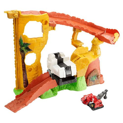 Dinotrux Rock Slide Revenge Playset