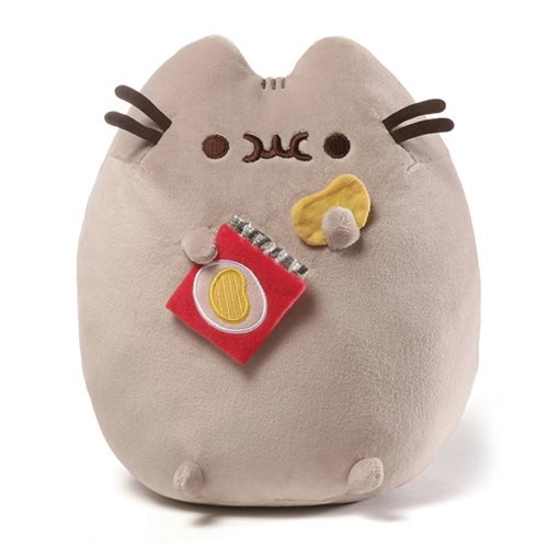 Pusheen the Cat Chips Snackable 9 1/2-Inch Plush