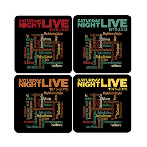 Saturday Night Live 40th Anniversary Coasters Set of 8