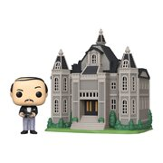 Batman Wayne Manor with Alfred 80th Anniversary Pop! Town