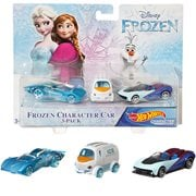 Frozen Hot Wheels Bundle Vehicles 3-Pack