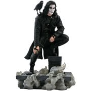 The Crow Movie Gallery Rooftop Statue