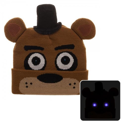 Five Nights at Freddy's LED Light-Up Beanie