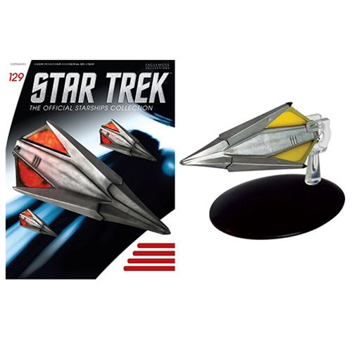 Star Trek Starships Tholian Ship The Original Series Remastered Vehicle with Magazine #129