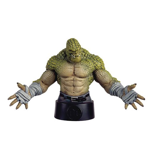 Batman Universe Killer Croc Bust with Collector Magazine #24