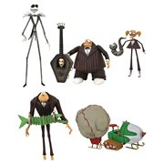 Nightmare Before Christmas Select Series 9 Action Figure Set