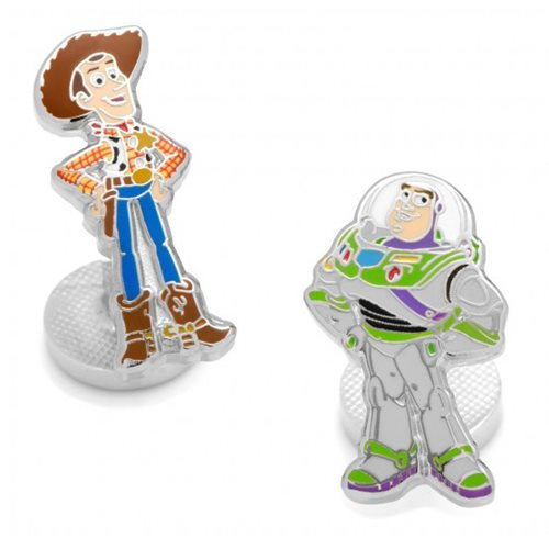 Toy Story Woody and Buzz Lightyear Cufflinks