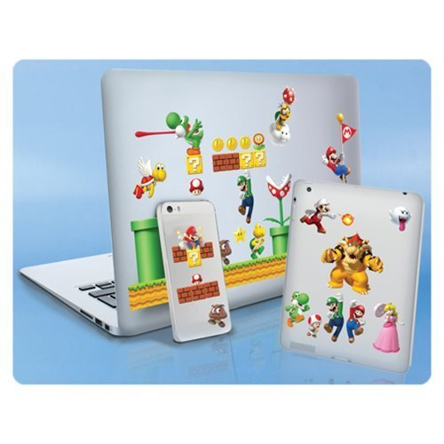 Super Mario Bros. Gadget Decals Stickers