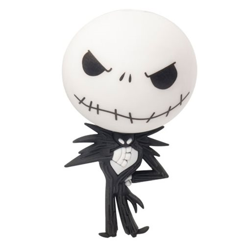 Nightmare Before Christmas Jack Skellington 3D Foam Magnet