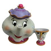 Disney Traditions Beauty and the Beast Mrs. Potts and Chip Statue