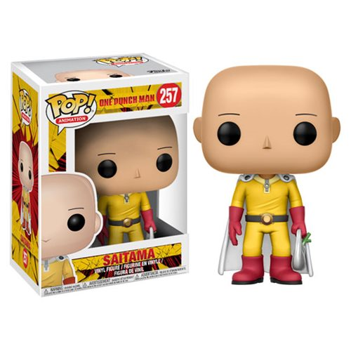 One Punch Man Saitama Pop! Vinyl Figure #257