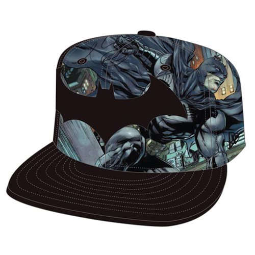Batman Logo Fronted 950 Snap Back Cap