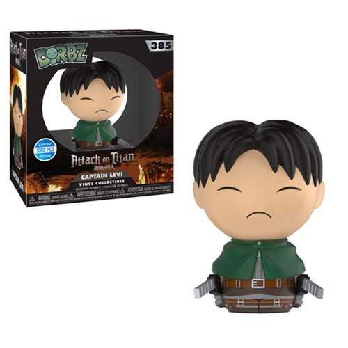 Attack on Titan Levi Dorbz Vinyl Figure #385