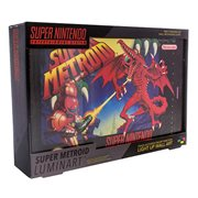 Super Nintendo SNES Super Metroid Luminart Light-Up Artwork