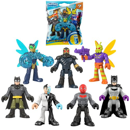 DC Super Friends Imaginext Foil Blind Bag S4 Gravity Case