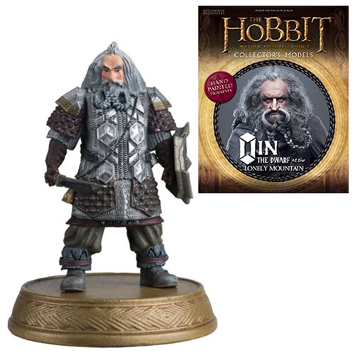 The Hobbit Oin The Dwarf At Lonely Mountain Figure with Collector Magazine #26