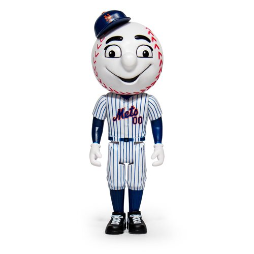Major League Baseball Mascots Mr. Met (New York Mets) ReAction Figure