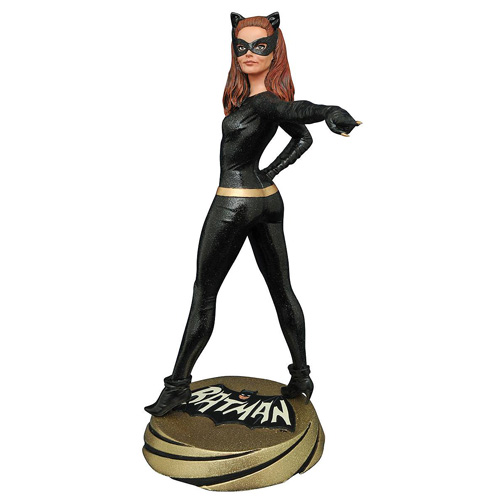 Batman Classic 1966 TV Series Catwoman Premier Collection Statue