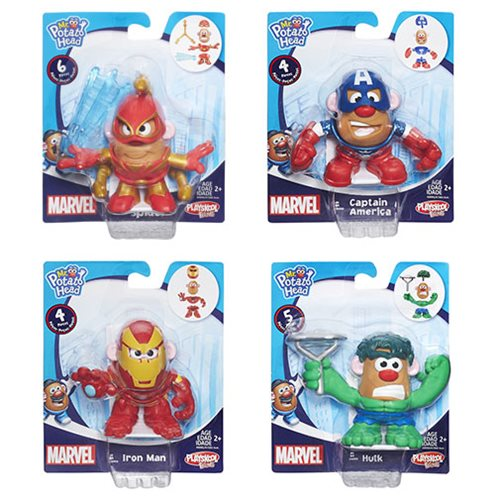 Marvel Mash Ups Mr  Potato Heads Minis Wave 3