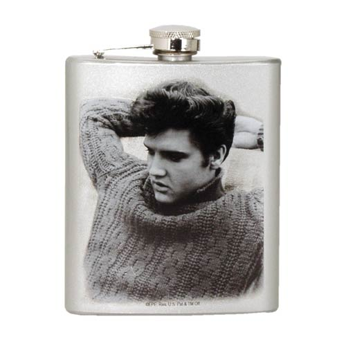 Elvis Presley Hip Flask