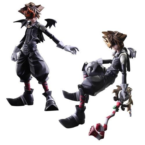Kingdom Hearts Sora Halloween Town Costume.Kingdom Hearts Ii Sora Halloween Town Version Play Arts Kai Action Figure