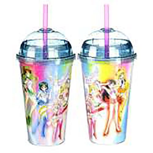Sailor Moon Tumbler with Dome Lid