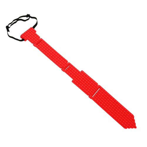 Bricky Blocks Red Neck Tie