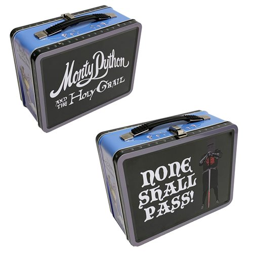 Monty Python and the Holy Grail Black Knight Tin Tote
