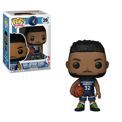 NBA Karl-Anthony Towns Timberwolves Pop! Vinyl Figure #39