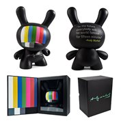 Andy Warhol Masterpiece 8-Inch TV Dunny