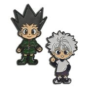 Hunter x Hunter Gon and Killua Enamel Pins 2-Pack