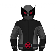 X-Men Wolverine X-Force Hooded Costume Fleece Zip-Up Hoodie