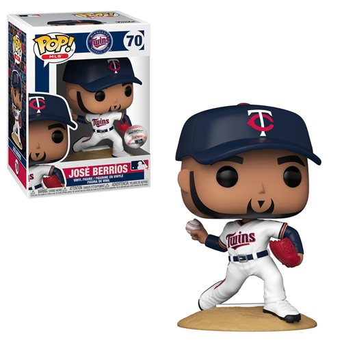 MLB Twins Jose Berrios (Home Uniform) Pop! Vinyl Figure