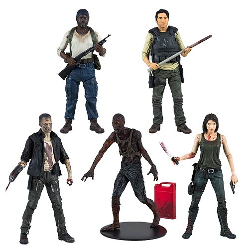The Walking Dead TV Series 5 Action Figure Set