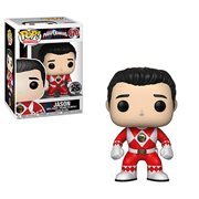 Power Rangers Red Ranger No Helmet Pop! Vinyl Figure #670, Not Mint
