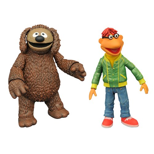 Muppets Best Of Series 1 Scooter & Rowlf Action Figure 2-Pack