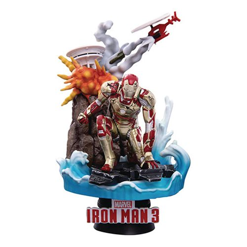 Iron Man MK 42 DS-016SP Dream Select Series 6-Inch Statue - Previews Exclusive