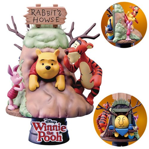 Winnie the Pooh D-Select Series DS-006 6-Inch Statue - Previews Exclusive