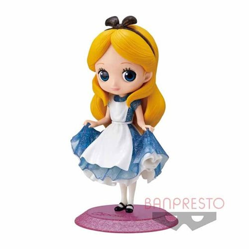 Alice in Wonderland Glitter Alice Q Posket