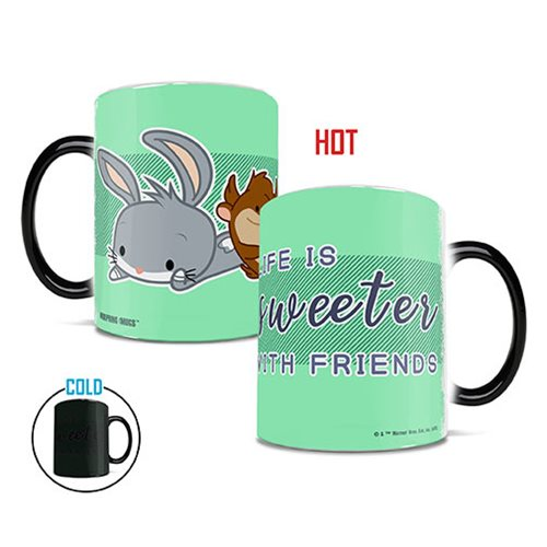 Looney Tunes Cartoon Life is Sweeter Heat-Sensitive Morphing Mug