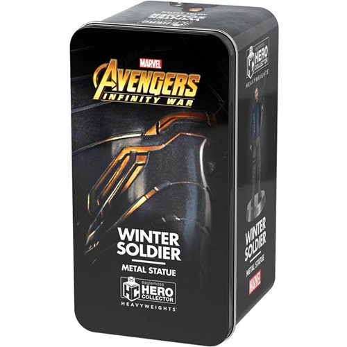 Marvel Movie Collection Avengers: Infinity War Winter Soldier Heavyweights Die-Cast Figurine