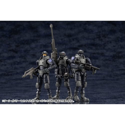 Hexa Gear Early Governor Vol. 1 Night Stalker Ver. 1:24 Scale Model Kit Set of 3
