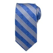 Star Wars R2-D2 Blue and Gray Stripe Mens Silk Tie